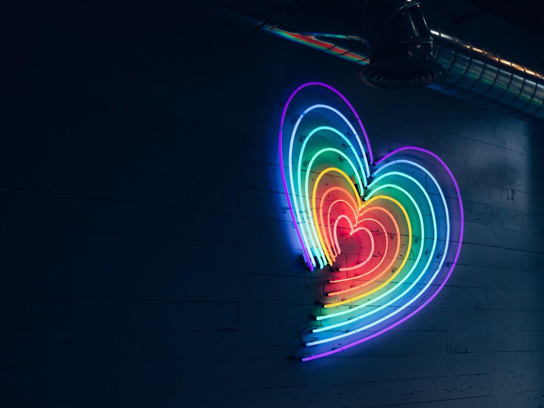 heart lighting